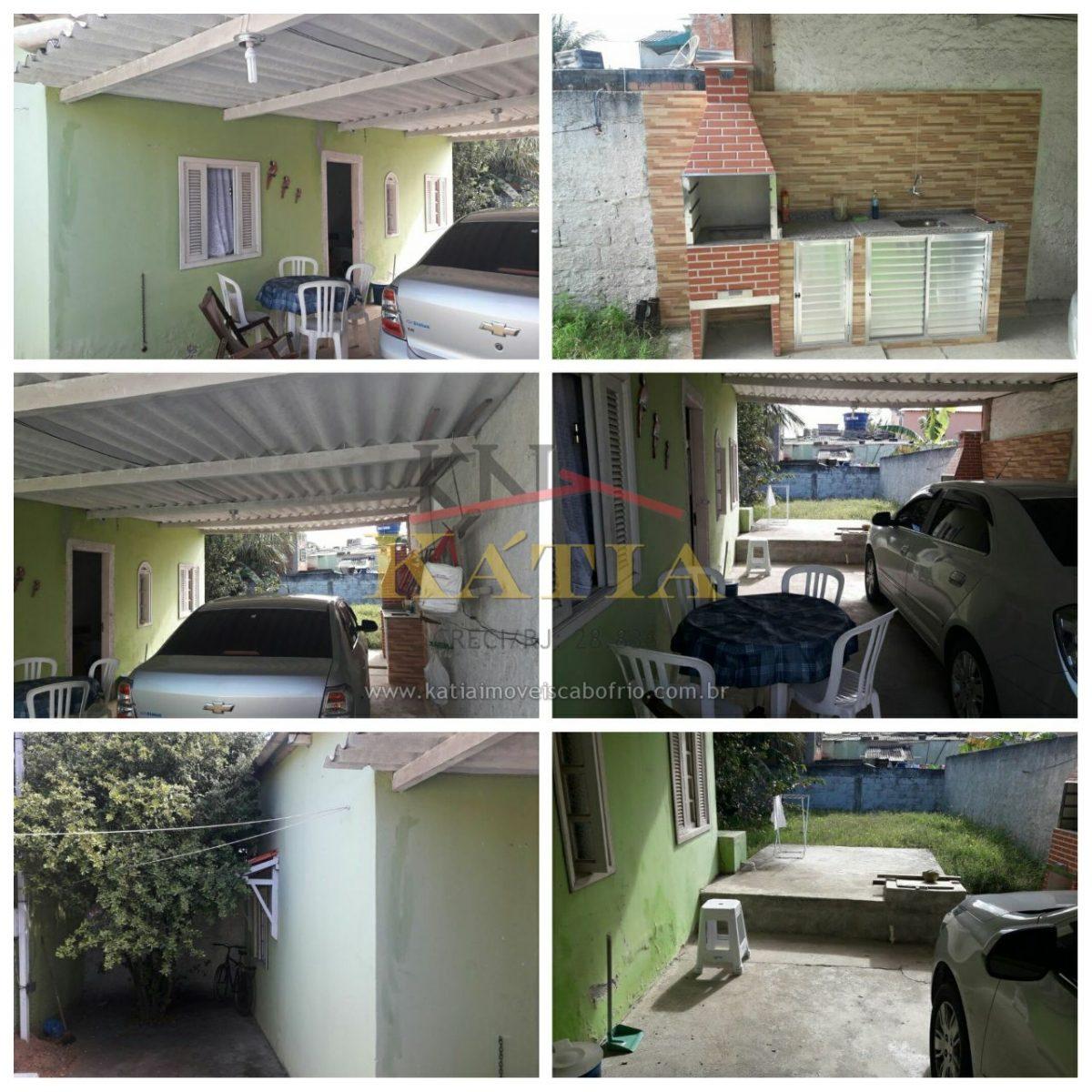Casa a venda em Cabo Frio, RJ.