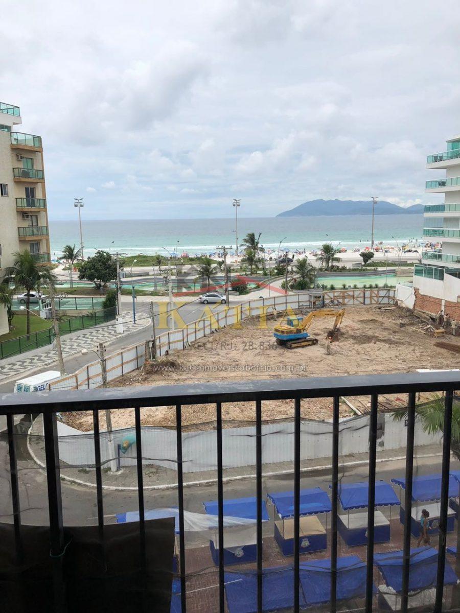 Alugo Temporada Apartamento com vista a Praia do Forte em Cabo Frio