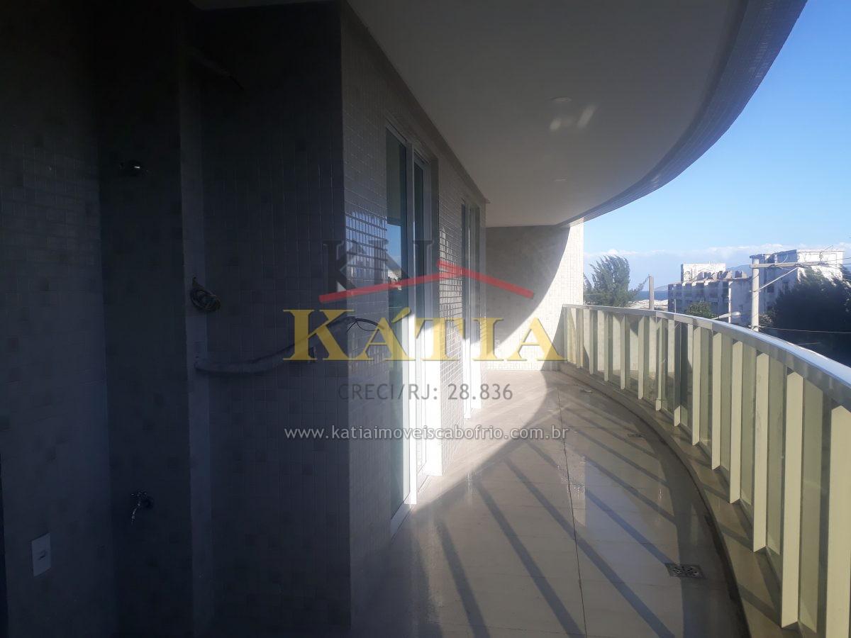 Alugo Fixo Apartamento 1ª locação no Bairro: Braga em Cabo Frio- RJ.